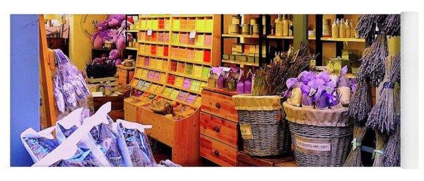 Lavender Shop In Southern France Yoga Mat