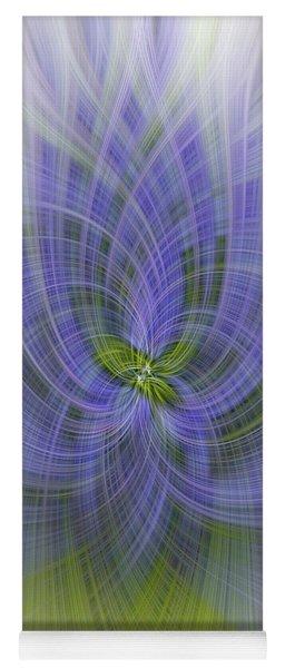 Lavender Twirl Yoga Mat