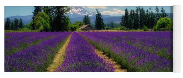 Lavender Valley Farm Yoga Mat