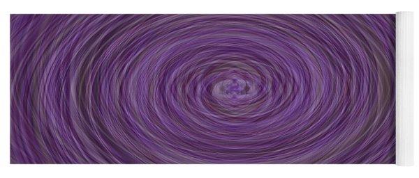 Lavender Vortex Yoga Mat