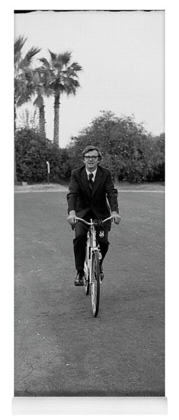 Lawyer On A Bicycle, 1971 Yoga Mat