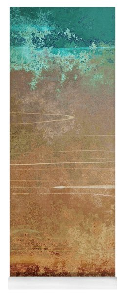 Layers Of Time - Abstract Art Yoga Mat