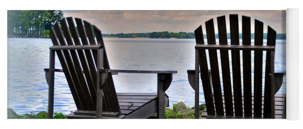 Yoga Mat featuring the photograph Lazy Afternoon by Lisa Wooten