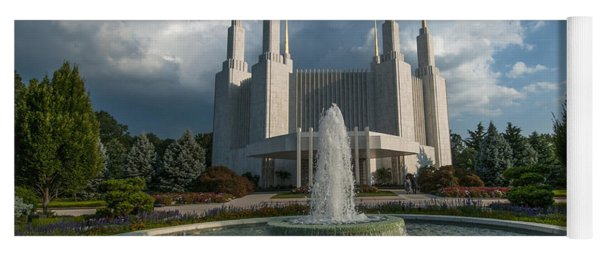 Lds Water Fountain  Yoga Mat