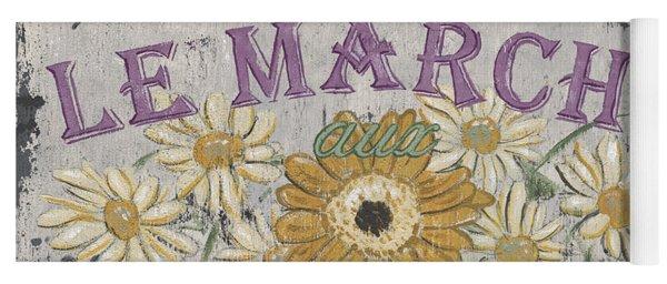 Le Marche Aux Fleurs 1 Yoga Mat
