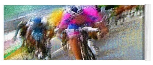 Le Tour De France 09 Yoga Mat