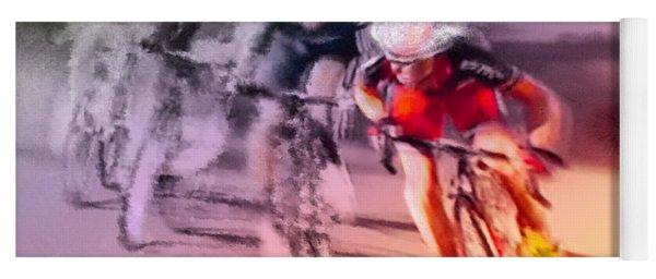 Le Tour De France 13 Yoga Mat