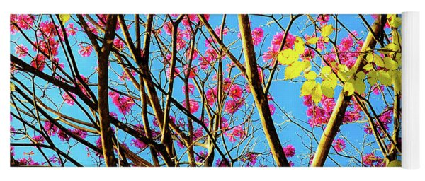 Leaves And Trees 980 Yoga Mat