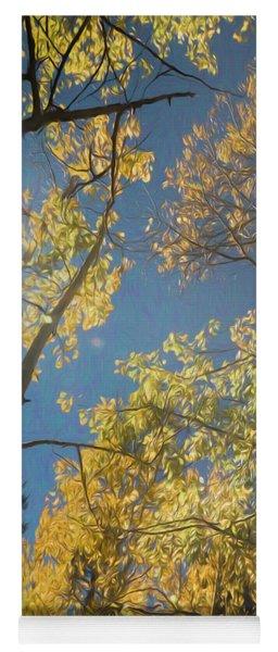 Leaves Of Fall Yoga Mat