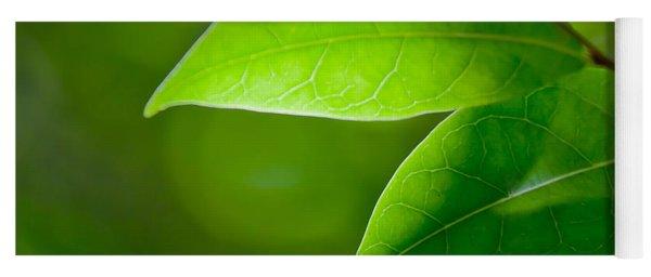 Leaves Of Green Yoga Mat