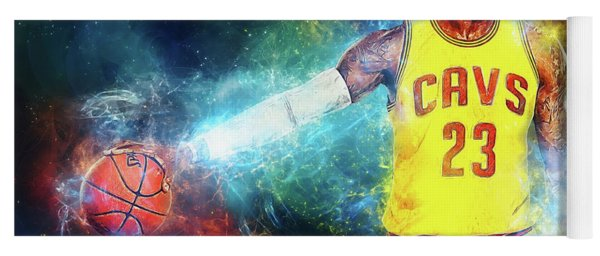 Lebron James Yoga Mat