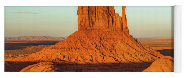 Left Mitten Sunset - Monument Valley Yoga Mat