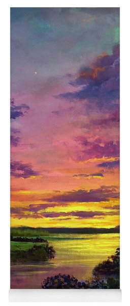 Legend Of A Sunset Two Yoga Mat
