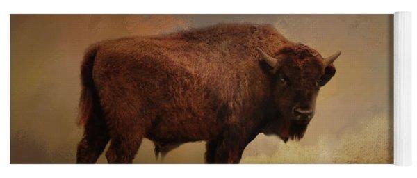 Legend Of Buffalo Spirit Yoga Mat