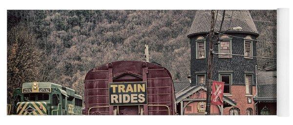 Lehigh Gorge Scenic Railway Yoga Mat