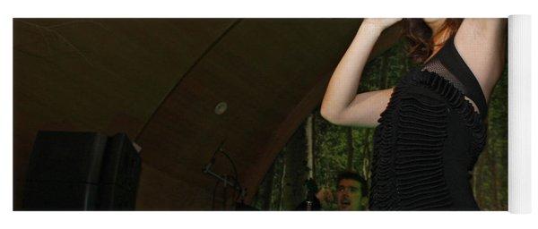 Leighton Meester Yoga Mat