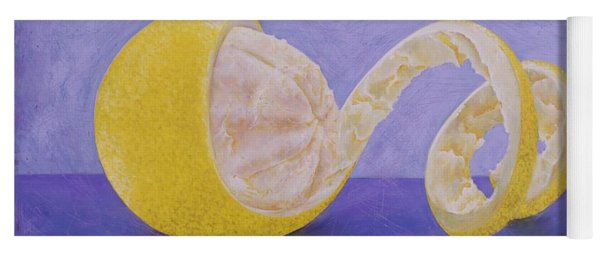 Lemon Peel Twist Yoga Mat