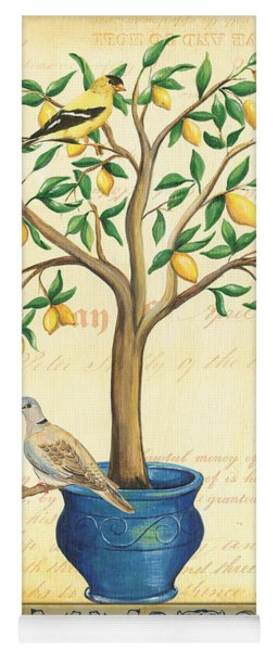 Lemon Tree Of Life Yoga Mat