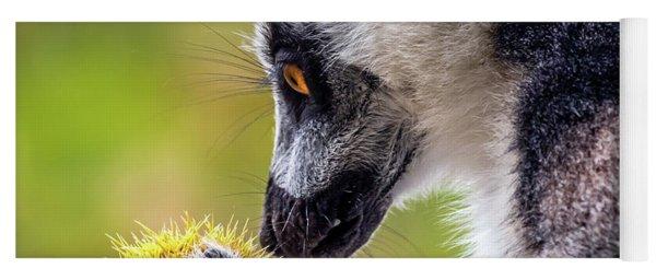 Lemur And Sweet Chestnut Yoga Mat