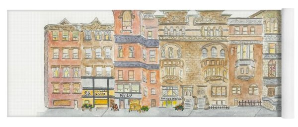 Lenox Avenue In Harlem Yoga Mat