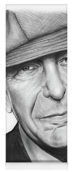 Leonard Cohen Yoga Mat