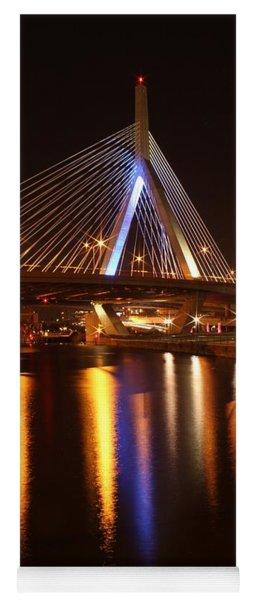 Leonard P. Zakim Bunker Hill Bridge Reflection 2 Yoga Mat