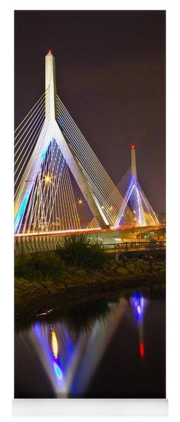 Leonard P. Zakim Bunker Hill Bridge Reflection Yoga Mat