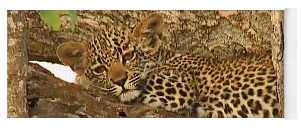 Leopard Cub Yoga Mat
