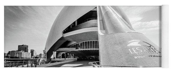 Les Arts, Valencia, Spain. Yoga Mat