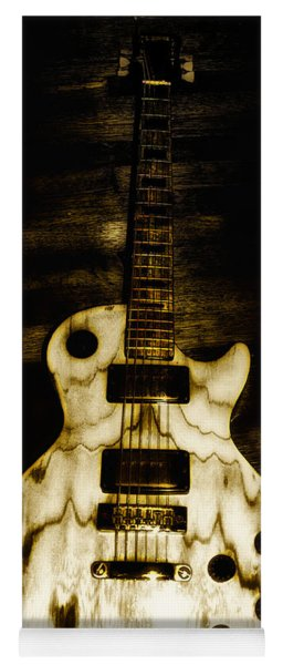 Les Paul Guitar Yoga Mat