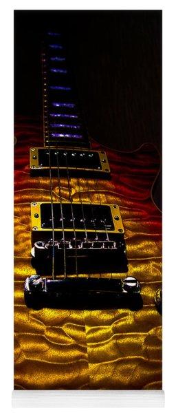 Guitar Custom Quilt Top Spotlight Series Yoga Mat