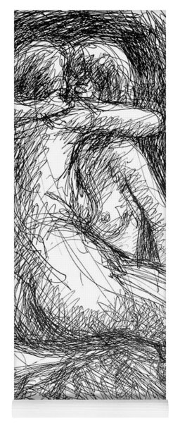 Lesbian Sketches  1 Yoga Mat