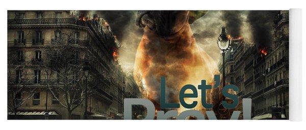 Let Us Pray-2 Yoga Mat