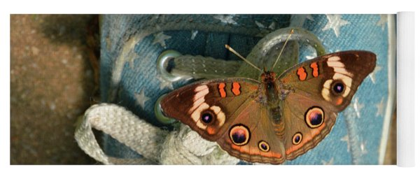 Let Your Spirit Fly Free- Butterfly Nature Art Yoga Mat