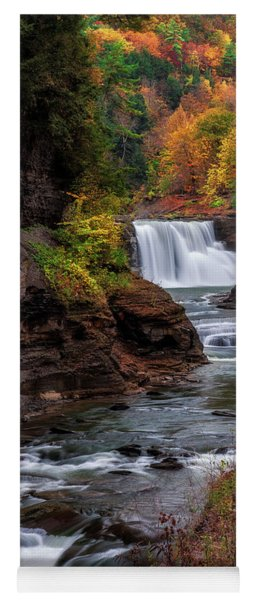 Letchworth State Park Lower Falls Yoga Mat