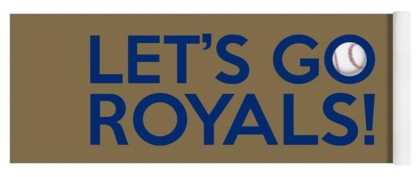 Let's Go Royals Yoga Mat