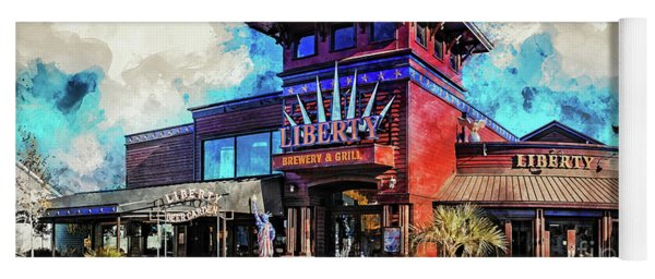 Liberty Brewery And Grill Myrtle Beach Yoga Mat