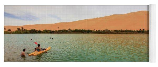 Libyan Oasis Yoga Mat