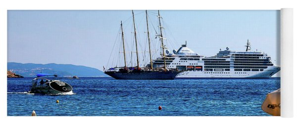 Life In The Adriatic Sea Dubrovnik Yoga Mat