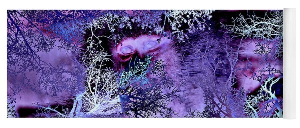 Life In The Ultra Violet Bush Of Ghosts  Yoga Mat