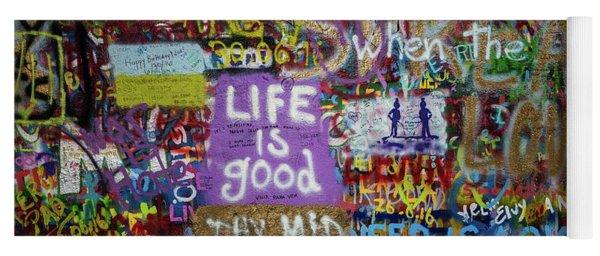 Life Is Good Yoga Mat