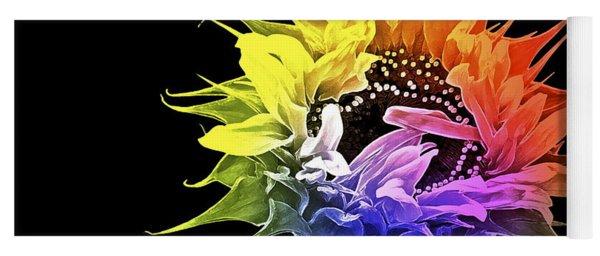 Life Is Like A Rainbow ... Yoga Mat