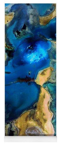 Yoga Mat featuring the photograph Life Stream by Richard Ricci