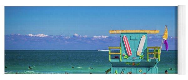 Lifeguard House 4457 Yoga Mat