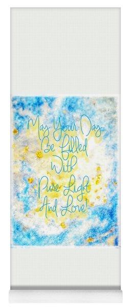Light And Love Yoga Mat
