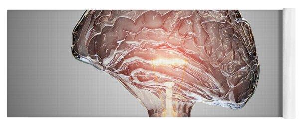 Light Bulb Brain Yoga Mat