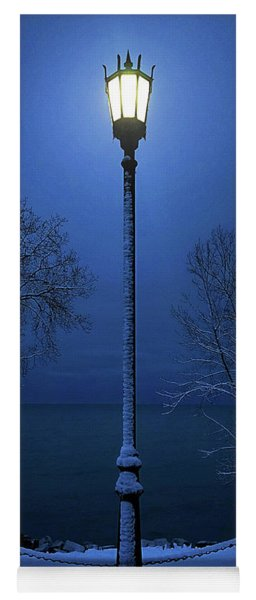 Light Winter Blue Yoga Mat
