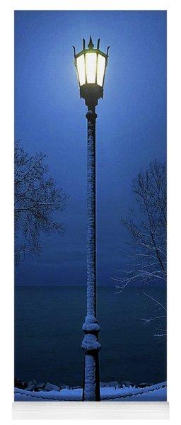 Light Winter Blue Yoga Mat