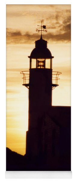 Lighthouse At Sunset Yoga Mat