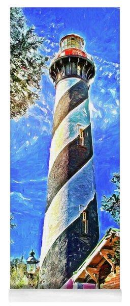 Lighthouse Close Up Yoga Mat
